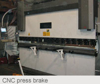 CNC press brake: Welding Manufacturing
