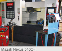 Mazak Nexus 510C-II : CNC Machining